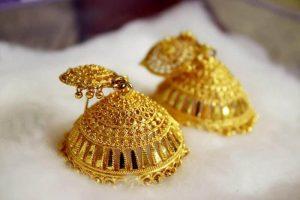 Gold Jewellery Ear Ladies