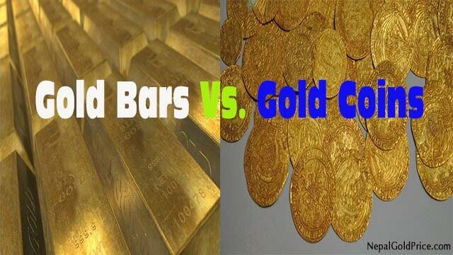 Gold Bars Vs Gold Coins
